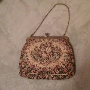 VINTAGE Small Stiched Purse